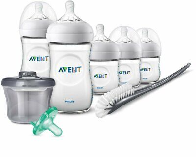 - NEW - Philips Avent Natural Baby Bottle Newborn Starter Gift Set MISSING