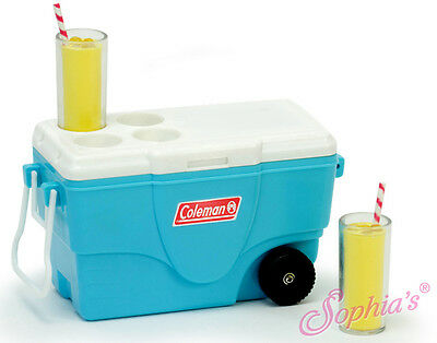 Coleman® Cooler & Lemonade Glasses made for 18