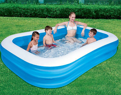 Large Inflatable Family Garden Outdoor Paddling Swimming Pool Fun Summer Relax