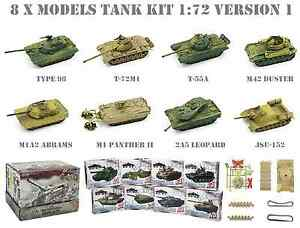 8 Carri Armati 1:72 WWII 4D Tank Set Lotto 1 (no airfix armourfast hat revell) - Italia - 8 Carri Armati 1:72 WWII 4D Tank Set Lotto 1 (no airfix armourfast hat revell) - Italia