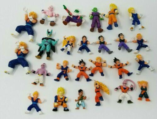 Vintage Dragon Ball Z Mini Action Figure Lot of 25 Cell Buu Super Saiyans