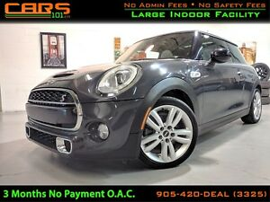 2016 MINI Cooper 3 Door Cooper S| NAVIGATION|LED HEAD LIGHT