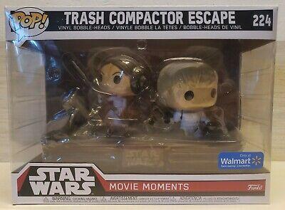 Funko Pop! Star Wars Movie Moments Trash Compactor Escape #224 Vinyl Bobble-head