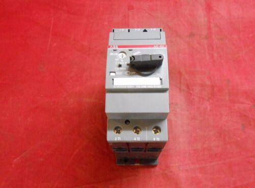 ABB  1SAM450000R1006   MOTOR STARTER   36-45AMP  3-POLE  NEW