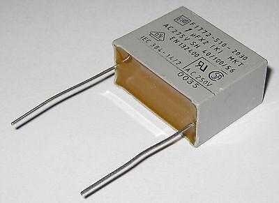 Ero 1uf Capacitor - 250 Vac - Radial Metalized Polyester Capacitors - 1uf - 250v