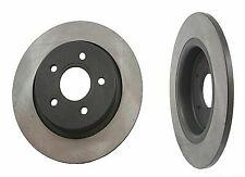 x2 REAR Brakes Brake SOLID Disc Rotor Set for Volvo c30 ...