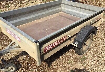 Used but very tidy Wessex Trailer 6'x4' 750kg Weight capacity in good Condition
