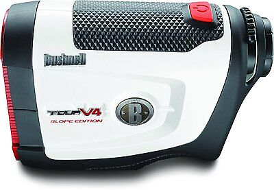 Bushnell Tour V4 Slope Golf Laser Rangefinder w/ Slope Tech (201661) - NEW!