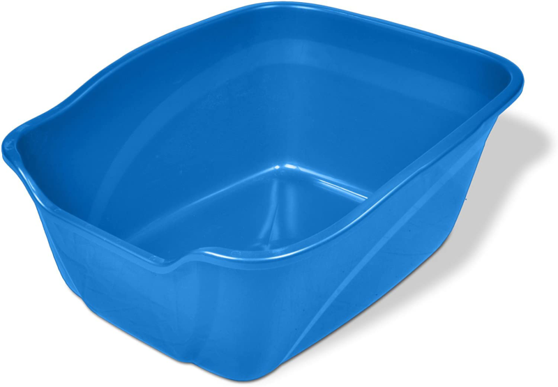 extra large cat litter box high side