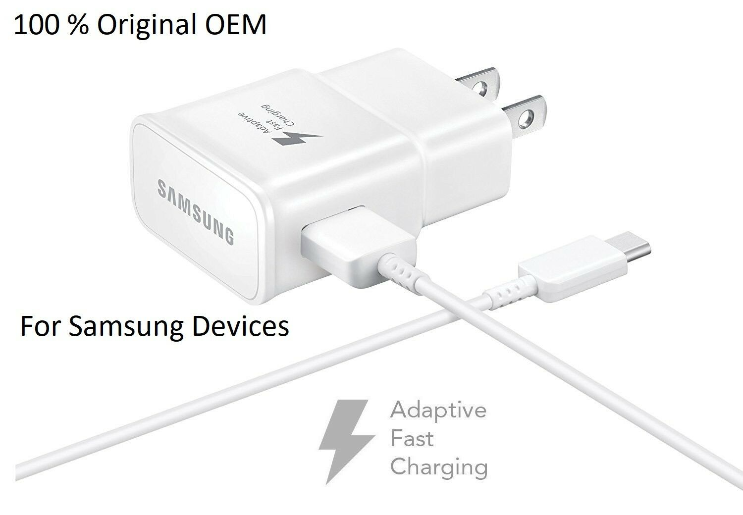 New Original Adaptive Fast Rapid Travel Wall Charger for Sam