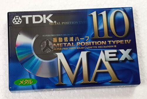 TDK MA EX 110 nice cassette tape new sealed № 989