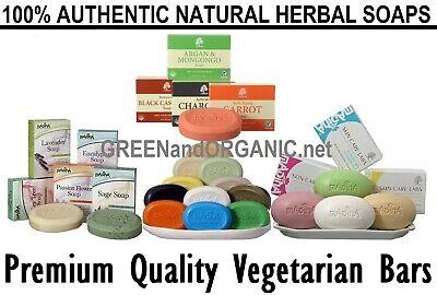 Madina Herbal 100% NATURAL Vegetable Base Bar Soap Bath/Beauty/Black/Halal/Vegan Beautiful Herbal Bar Soap