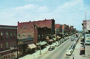 Street Scene in Downtown Kane PA OLD