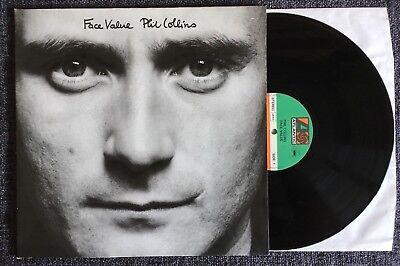 Phil Collins - Face Value - Vinyl LP