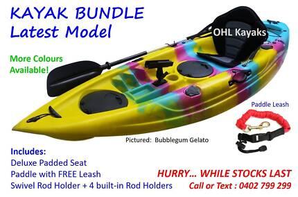 2018 Model Ocean Fishing Kayak Bundle