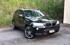 2014 BMW X3 Xdrive20d, Roof, Books, Tidy! Everton Hills Brisbane North West Preview