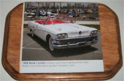 Factory Photo 1958 Buick Limited four door Riviera Ref. # 28544
