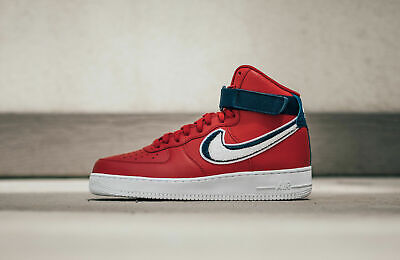 Nike Air Force 1 High '07 LV8  (Size 10.5) Gym Red White Blue Void