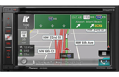 PIONEER AVIC-5200NEX AVIC5200NEX INDASH NAVIGATION TOUCH SCREEN