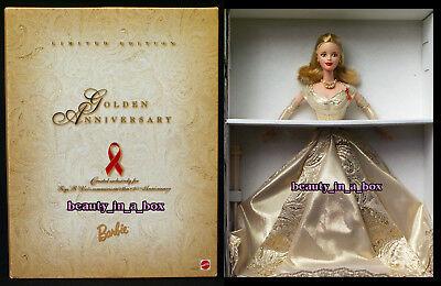 Golden Anniversary Barbie Doll 50th Commemorative Toys R Us