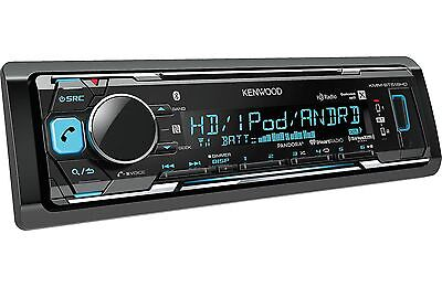 New Kenwood KMM-BT518HD MP3/WMA Digital Media Player Bluetooth HD Radio SiriusXM