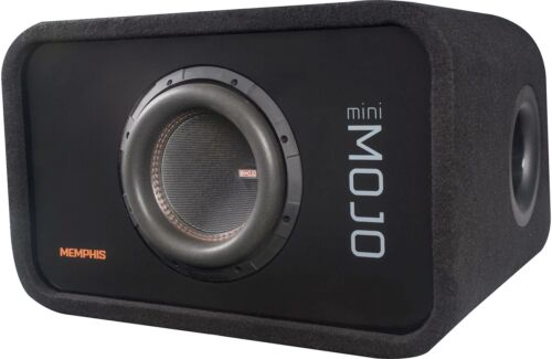 "Memphis Audio Ported Loaded Enclosure with 8"" Subwoofer - Open Box *MJME8S1"