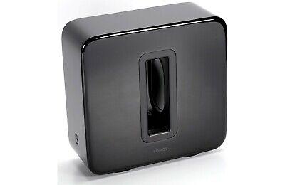 Sonos Sub Powered Subwoofer Black Brand New Gen 2 Latest Model SUBG1US1BLK