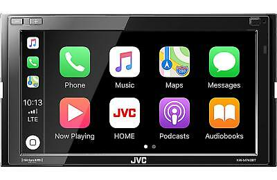 JVC 2-DIN Car Stereo Digital Media Receiver with Bluetooth USB - KW-M740BT