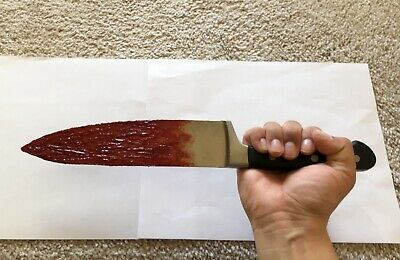 2018 Halloween Michael Myers H40 bloody knife prop replica