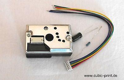GP2Y1010AU0F Staub Sensor, optical dust sensor, Sharp-Sensor, Arduino ready