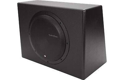 P300 12 Rockford Fosgate   Punch 12  Powered  Amplified  Subwoofer Enclosure