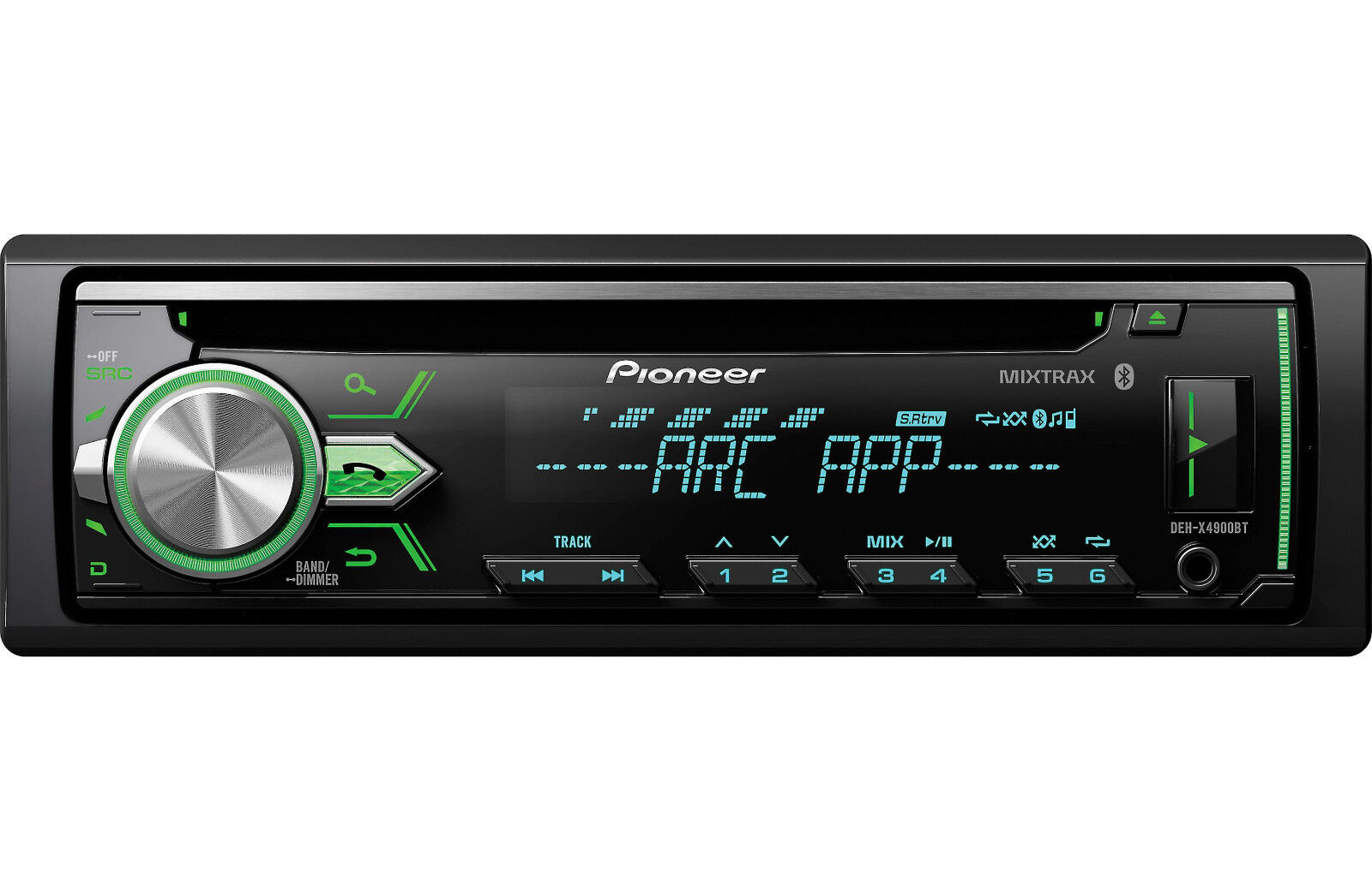 Pioneer DEH-X4900BT CD/MP3/WMA Player Bluetooth MIXTRAX iPhone Android Control
