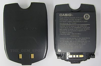 2 USED CASIO GzONE VERIZON C711 BATTERY BOULDER - C711 Casio Gzone Boulder