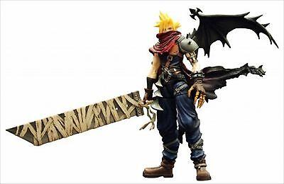 Square Enix Play Arts Vol. 2 Kingdom Cloud Strife Hearts Ver. Action Figure Cloud Strife Kingdom Hearts
