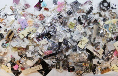 300 Plus Piece Random Assorted Costume Fashion Jewelry Sample Sale Lot #250LOT