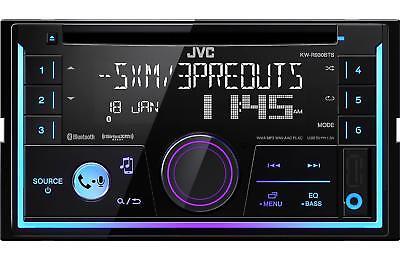 JVC 2-DIN SiriusXM Ready Bluetooth CD AM FM Car Stereo Receiver