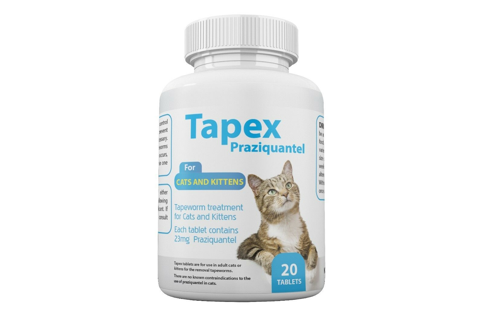 Купить Tapex - Tapex Dewormer 20 Tablets Tapeworm for  Cats similar to Droncit Tradewinds