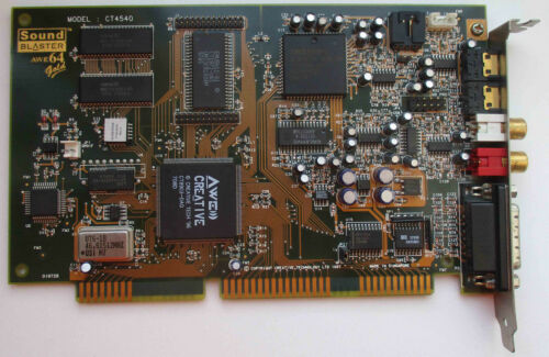 Sound Blaster AWE 64 Gold CT4540 (latest revision)