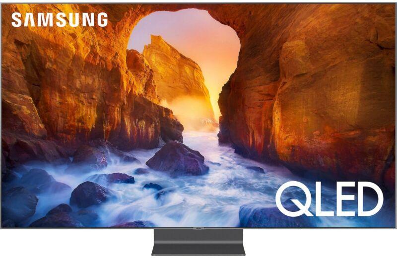"Samsung QN65Q90R 65"" Smart QLED 4K Ultra HD TV with HDR (2019 model)"