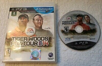 Tiger Woods PGA Tour 14 (Sony PlayStation 3, 2013) NO MANUAL