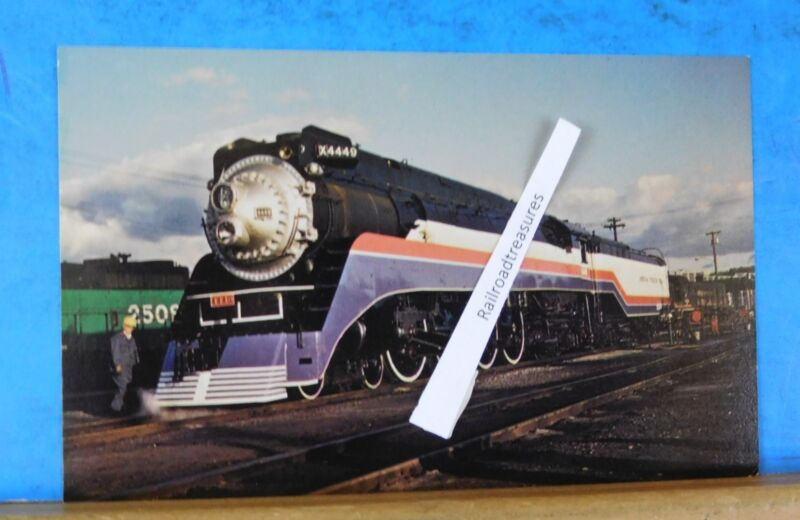 Postcard American Freedom Train Southern Pacific's Locomotive #4449