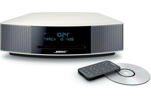 Bose Wave IV Music System CD MP3 AM/FM - Platinum Silver NEW