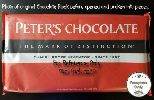 Peters Chatham 140 Milk Chocolate Block PIECE for Tempered Melting YOU CHOOSE LB