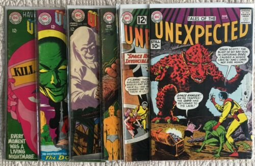 Silver Comics Lot/6 TALES OF THE UNEXPECTED #s  59 70 104 105 106 107
