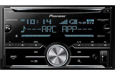 Pioneer FH-X830BHS CD RDS Receiver AUX/USB/BT/SiriusXM/HD Ra