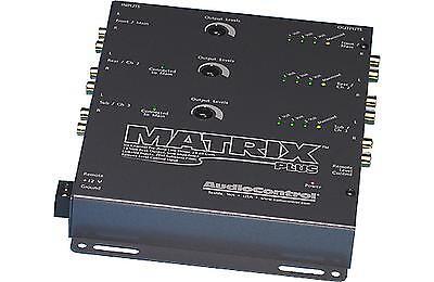 AudioControl Matrix Plus Six (6) Channel Pre-Amp Line Driver/Level Matcher