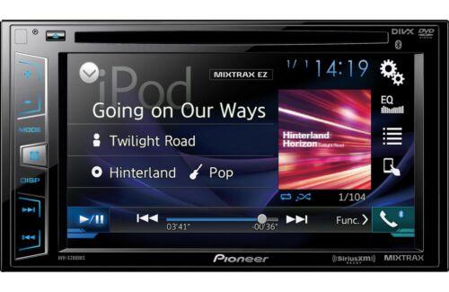 "Pioneer AVH-X2800BS RB DVD/MP3/CD Player 6.2"" LCD Bluetooth GPS & SiriusXM Ready"