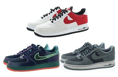 Nike 488298 Mens Air Force 1 Low Top Leather Basketball Athletic Shoes