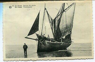 CPA - Carte Postale - Belgique - La Panne - Barque de Pêche (B9208)