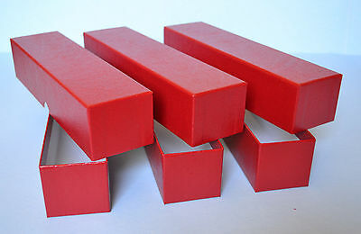 3 RED STORAGE BOX (2X2X9)FOR 2X2 COIN HOLDERS